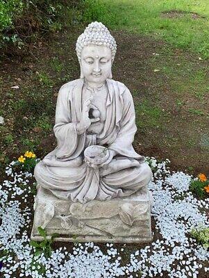Statua-Del-Buddha-Con-Base-Per-Esterno-Da
